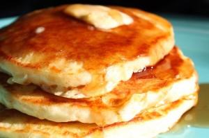 amerikanska pannkakor fluffiga